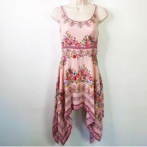 H & M Floral Kerchief Dress